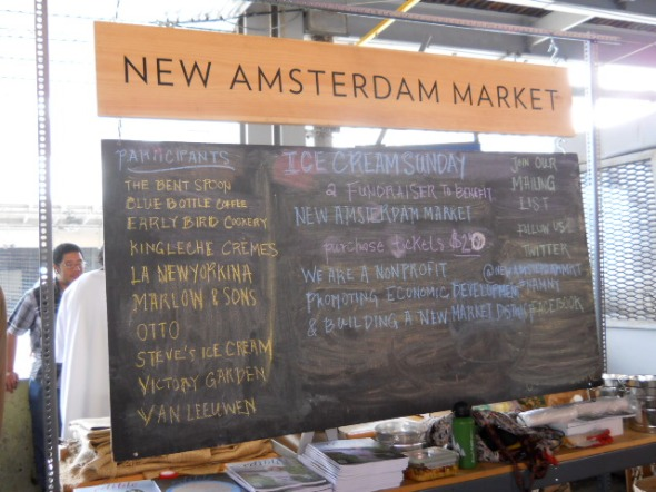 Ice Cream Sunday @ New Amsterdam Market