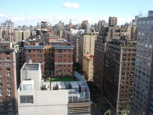 A view from the top, of the Upper West Side.