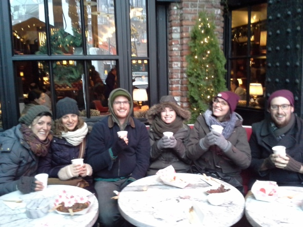 Cozy Up With a Group of Friends on a Custom Food Tour!